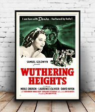 Wuthering Heights: Film Poster reproduction