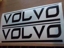 VOLVO panel skirt  decal ..on 12 year vinyl..x2
