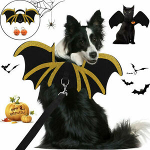 Halloween Pet Bat Wings Costume Dog Cat Puppy Bat Cosplay Funny Clothes Outfit