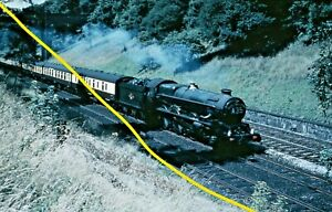 KING CLASS 6016 at Sonning c1959 Railway Slide GM16