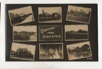 Greetings From Staplefield Sussex Vintage RP Postcard 508b