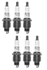 Set Of 6 Spark Plugs Pre-Gapped .035 AcDelco For Jeep CJ6A Chevy Buick GMC 6CYL