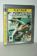 UNCHARTED DRAKE'S FORTUNE USATO SONY PS3 EDIZIONE ITALIANA PLATINUM AS3 50244