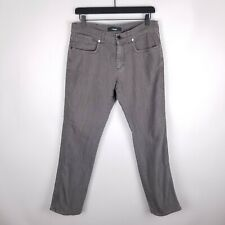 "Z Zegna 32 Jeans Slim Fit Regular Rise Gray 30"" Inseam Mens Casual"