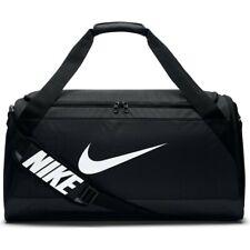 Nike Brasilia Medium Black Training Duffel Gym Overnight Travel Bag BA5334-010