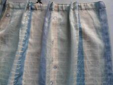 Gardine,Vorhang,Store, Seitenteile 2 Stück