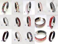 Modeschmuck-Armbänder im Armspange-Stil aus Kunststoff