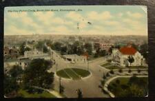 1911 POSTCARD-FIVE POINTS CIRCLE, SOUTH 20TH STREET, BIRMINGHAM, ALABAMA