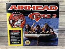 New listing Inflatable Airhead G-Force 3 Water Tube Red New