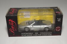 V 1:43 BANG 8010 FERRARI 348 SPIDER ROAD STREET GUN METAL SILVER GREY MIB