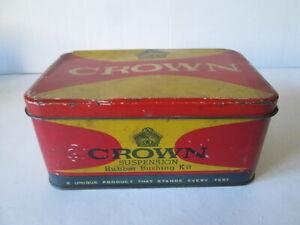 Crown suspension Rubber bushing kit tin. Indian Ambassador parts tin. motor tin.