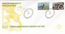 Netherlands 1993 Centenary of Cycle and Motor Industry FDC Unadressed VGC No.303