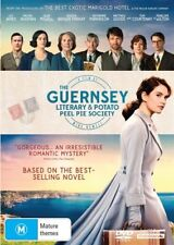 The Guernsey Literary And Potato Peel Society (DVD, 2018) NEW