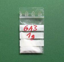 1 Outil GA3, > 90%, Acide Gibbérellique, Keimhilfe, Rosenzucht, Schnellwachstum,