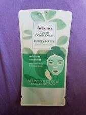 Aveeno Clear Complexion Pure Matte Peel Off Face Mask with Alpha Hydrox set of 2