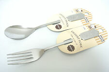 New design Sanrio Hello Kitty stainless steel Spoon and Fork(Normal Size)