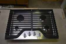 """Whirlpool Wcg75Us0Ds 30"""" Stainless Gas Cooktop w/4 Burners #6175 T2"""