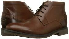 Rockport Men's Collyns Low Boot Chukka Boots- Brown Size 11.5W