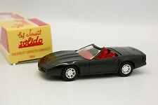 Solido Hachette 1/43 - Chevrolet Corvette Cabriolet 1984 Noire