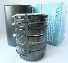 Nikon F/Ai fit-Triplus auto extension tubes