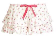 Lounge Pants, Sleep Shorts Floral 100% Cotton Sleepwear for Women