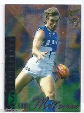 1996 Select Classic Metal Silver [ 77 ] Corey McKERNAN North Melbourne
