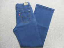 "WOMENS LEVI 512 SLIMMING BOOTCUT STRETCH JEANS SIZE 8 29""L / REF K3491"