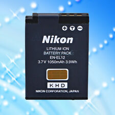 New Genuine Nikon EN-EL12 Digital Camera Original Spare Replacement Battery