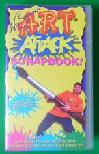 ART ATTACK SCRAPBOOK VIDEO VHS NEIL BUCHANAN 1997 45 MINS CRAFTS PAINTING