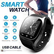 Waterproof M26 Android Smart Watch Woman Men Bluetooth V4.2 Anti-lost Pedometer