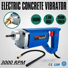 800W Electric Concrete Vibrator  1.5m Hose 35mm  Effectively Portable Vibration