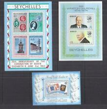 C324 Seychelles /  A Small Collection Mini Sheets  Umm