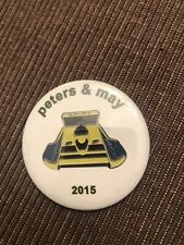 Peter's And May  Unlimited Hydroplane Pin button Seattle Seafair
