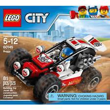 Lego City Buggy with Minifigure 81 pcs NIB 60145 Ages 5-12 Racing ATV