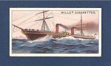 Cunard Line RMS SCOTIA  Blue Riband Paddle Steamer 1911 original card