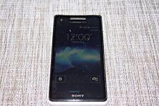 DOCOMO SONY SO-01E XPERIA AX ANDROID WATERPROOF SMARTPHONE UNLOCKED WHITE #14176