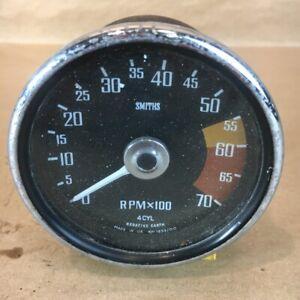 OEM MG Midget Austin Healey Sprite Tachometer RPM Gauge Smiths RVI1433/00 Orig.