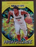 Patrick Beverley 2019-20 NBA Hoops High Voltage Los Angeles Clippers