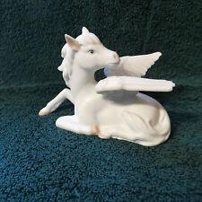 Pegasus Horse W/White Wings Figurine - Lefton - Hand Painted - #03703 -Beautiful