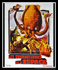 MONSTER FROM SPACE H. Honda 4x6 ft French Grande Movie Poster Rerelease 1970