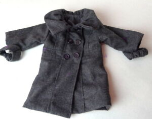 """Doll Coat Clothing Sophia's Gray 2012 for 18"""" doll fits American Girl"""