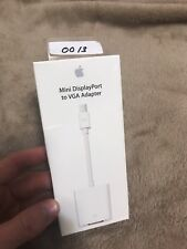GENUINE Apple Mini Display Port to VGA Adapter(A1307) New in Factory Sealed Box!