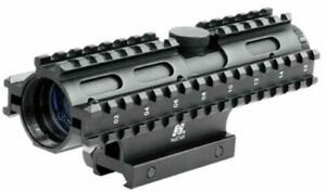 NcStar Tactical 3-Rail Sighting System 2-7x32