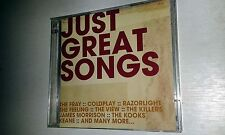 Just Great Songs 2CD: OASIS COLDPLAY R.E.M JEFF BUCKLEY STONE ROSES KOOKS ETC..