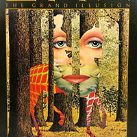 STYX The Grand Illusion Vinyl LP Record SP 4637 A&M Records 1977 - NO Poster