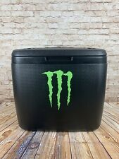 Monster Energy Large Rolling Beach Lake Cooler w/ Wheels and Handle Rare