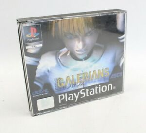 PlayStation One GALERIANS Cased Game with Manual Complete - L10