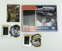 Upper Deck McDonald's Wayne Gretzky Card Lot 5x7 Grand Moment