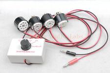 """Quad Tube amp bias tester for EL34 6V6 6L6 KT88 6550 KT120 7024""""mV""""test mode"""