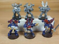 7 CLASSIC METAL WARHAMMER CHAOS SPACE MARINE NIGHT LORDS PART PAINTED (264)